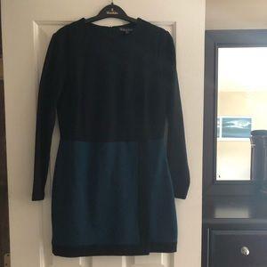 Brooks Brothers Color Block Dress
